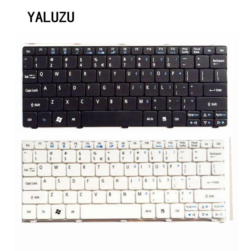 Nos teclado para Acer para Aspire una D255 D257 AOD257 D260 D270 521, 532, 532, 533 H AO521 AO533 NAV50 negro teclado del ordenador portátil