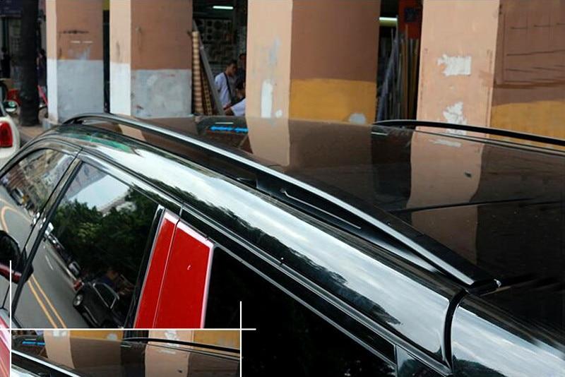 Barras metálicas negras de alta calidad para Land Rover Discovery Sport 2015 2016, 1 Juego