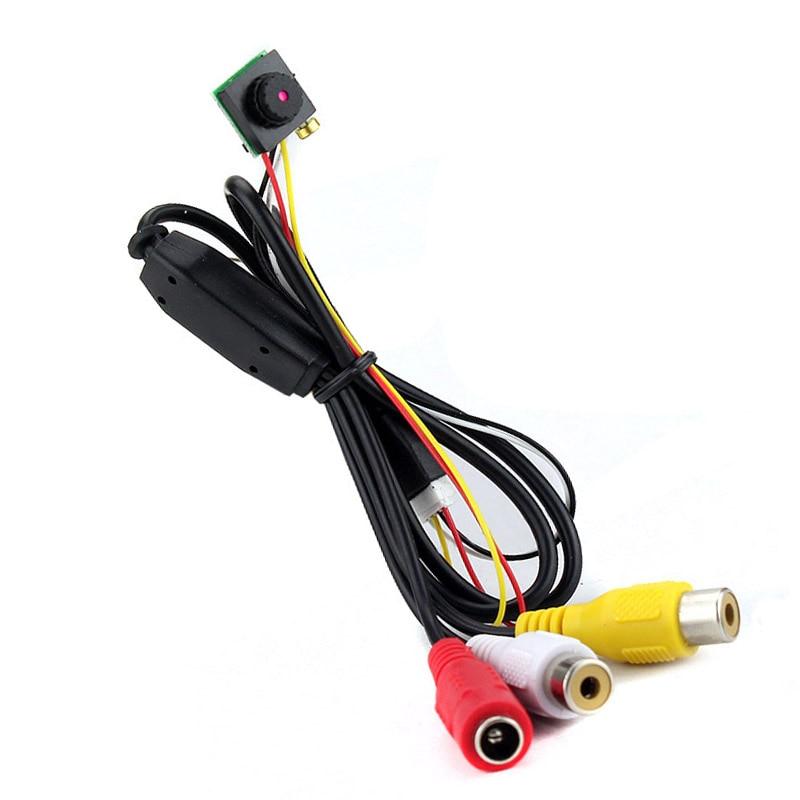 Super Mini CCTV cámara analógica de seguridad 600TVL CCTV Micro con 3,6mm PAL/NTSC lente cámara interior remota