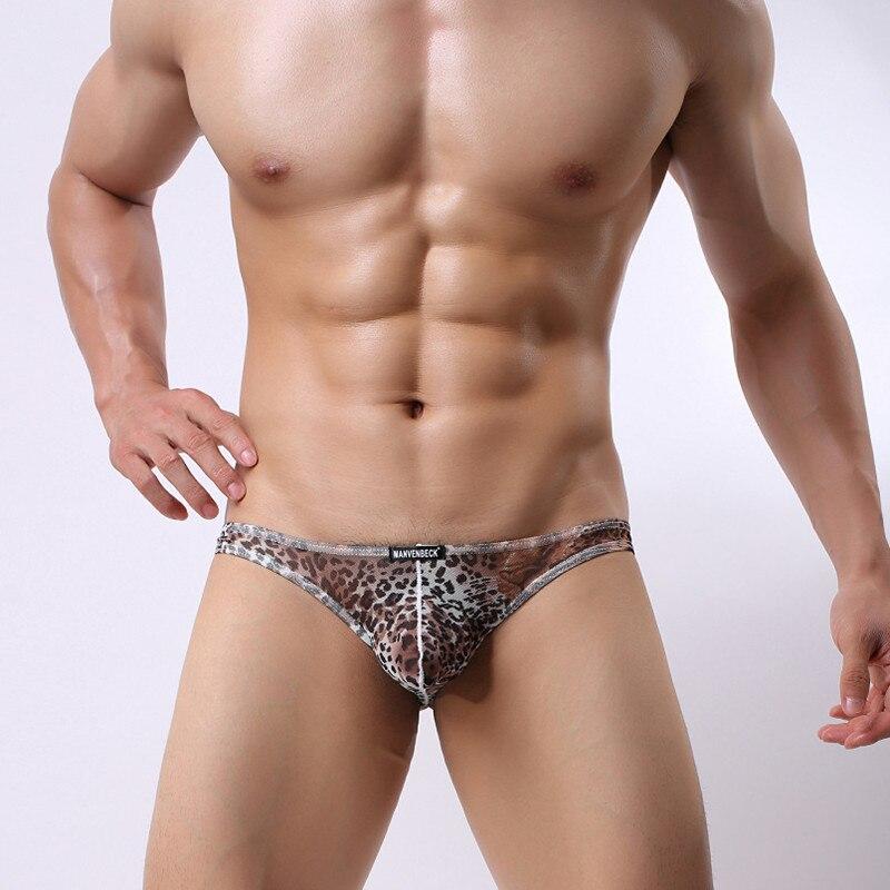 Мужское нижнее белье, сексуальное дышащее леопардовое нижнее белье, удобное Мужское нижнее белье, шорты, мужское нижнее белье