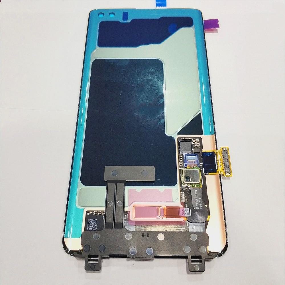 AMOLED para Samsung Galaxy S10 LCD G973 G973F G973F/DS LCD pantalla táctil digitalizador para SAMSUNG S10 Plus G9750 G975F LCD