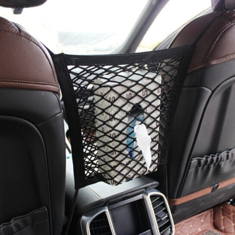 Siège AUTO fente Nylon corde sac de rangement pour Suzuki SX4 SWIFT Alto Liane Grand Vitara Jimny s-cross AUTO accessoires