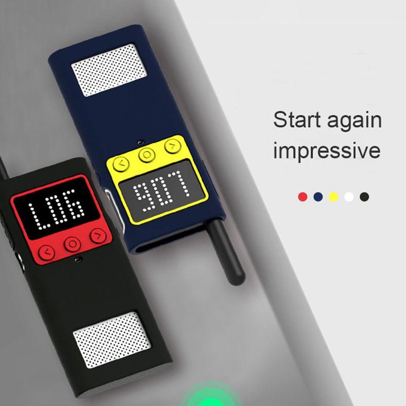 Para Xiaomi MiJia 1S Walkie Talkie funda protectora de silicona exterior walkie-talkie resistente a golpes Accesorios