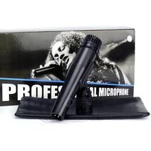 Instrument professionnel de Microphone de karaoké de micro filaire dynamique tenu dans la main pour le Studio denregistrement vidéo de guitare de tambour de SM57 SM 57LC