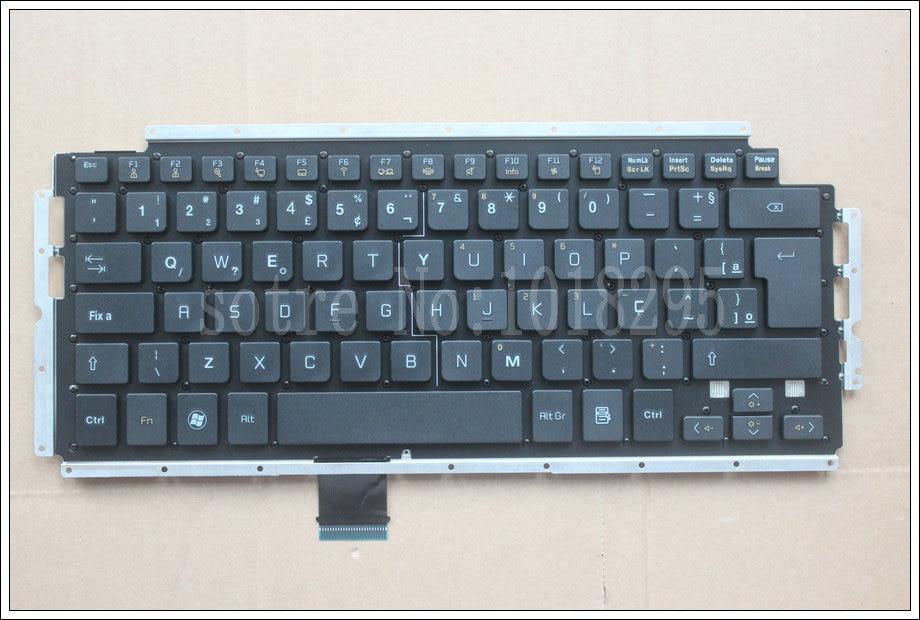 Nuevo Teclado BR para LG XNOTE Z460 Z430 SG-55600-40A AEW73289811L Teclado de portátil de Brasil