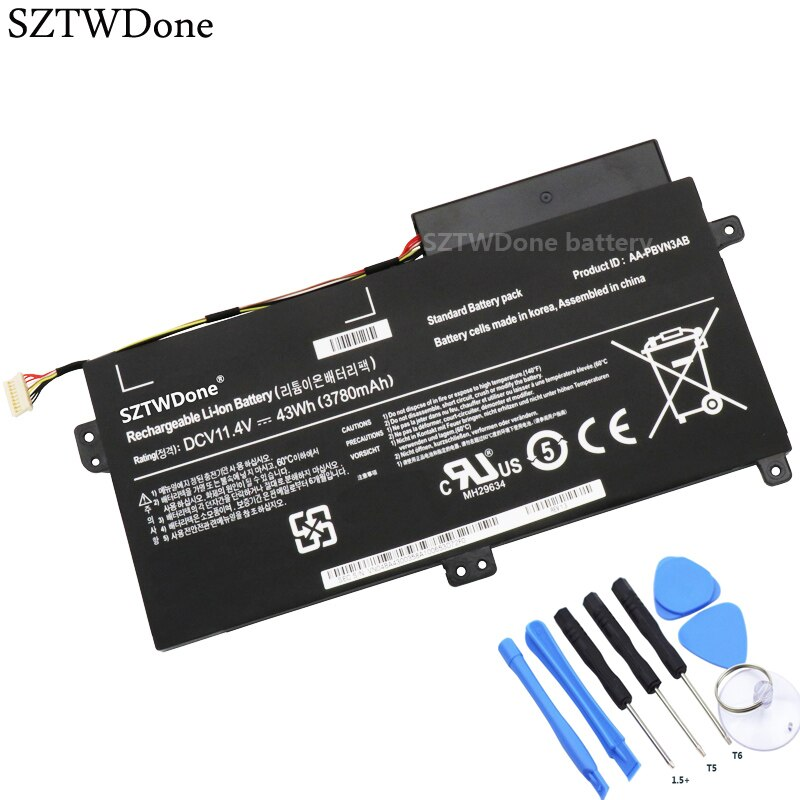 SZTWDone AA-PBVN3AB batería del ordenador portátil para SAMSUNG NP370R4E NP370R5E NP370R5V NP450R4E NP450R5E NP450R4V NP450R5V NP470R5E NP510R5E
