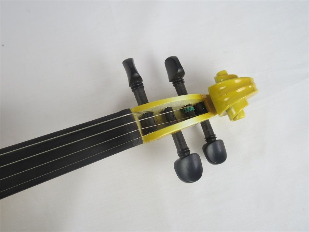 SONG Brand Crazy-1 yellow color solid wood electric violin 4/4 enlarge