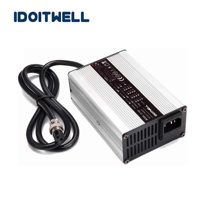 Aangepaste 180W Serie 12V 10A 24V 5A 36V 4A 48V 3A 60V 2.5A 72V 2A Acculader Voor Lood-zuur Of Lithium Of LifePO4 Batterij