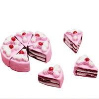 8 шт./10 шт., миниатюрный кабошон с плоской спинкой «сделай сам» из искусственная еда-муляж каучука для торта, декоративное ремесло, игрушечны...