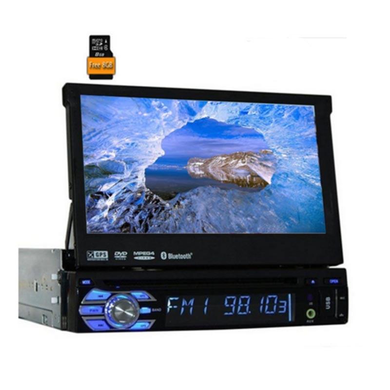 Electrónico de coche 1 reproductor de DVD de coches din GPS navegación...