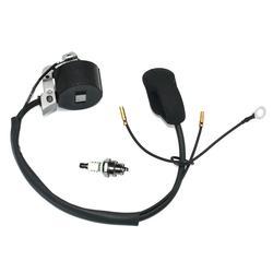 Módulo de ignição com Spark Plug BM6A para STIHL FS400 FS450 FS480 FR450 FR480 SP400 SP450 FR480C Roçadora Partes #4128 400 1306