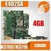 E502SA carte mère 4G/N3700/N3710 Pour For Asus E402SA E502SA E402S E502S E402 E502 ordinateur portable carte mère E402SA carte mère test 100% ok