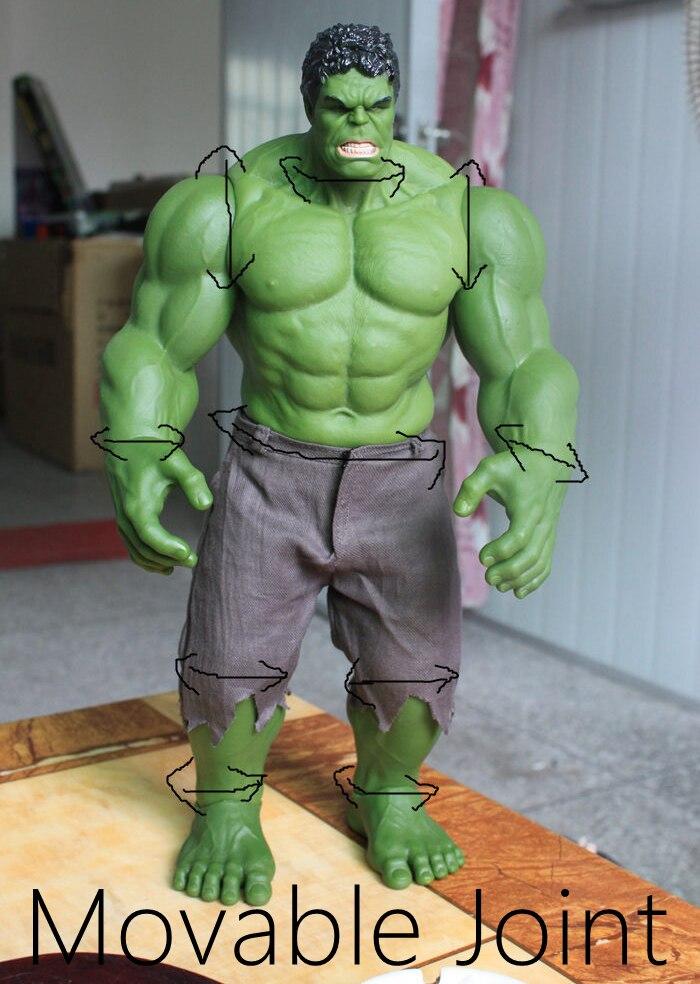 Figuras de acción de los vengadores, Hulk increíble, Iron Man, Hulkbuster EDAD DE Ultron Hulkbuster, Hulk Smash, 42cm