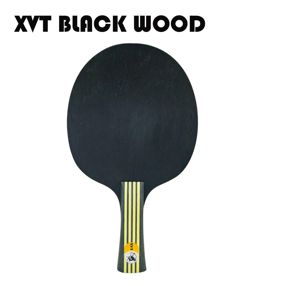 Черное дерево XVT ALLROUND CLLASIC лезвие для настольного тенниса/ракетки для настольного тенниса/летучей мыши для настольного тенниса