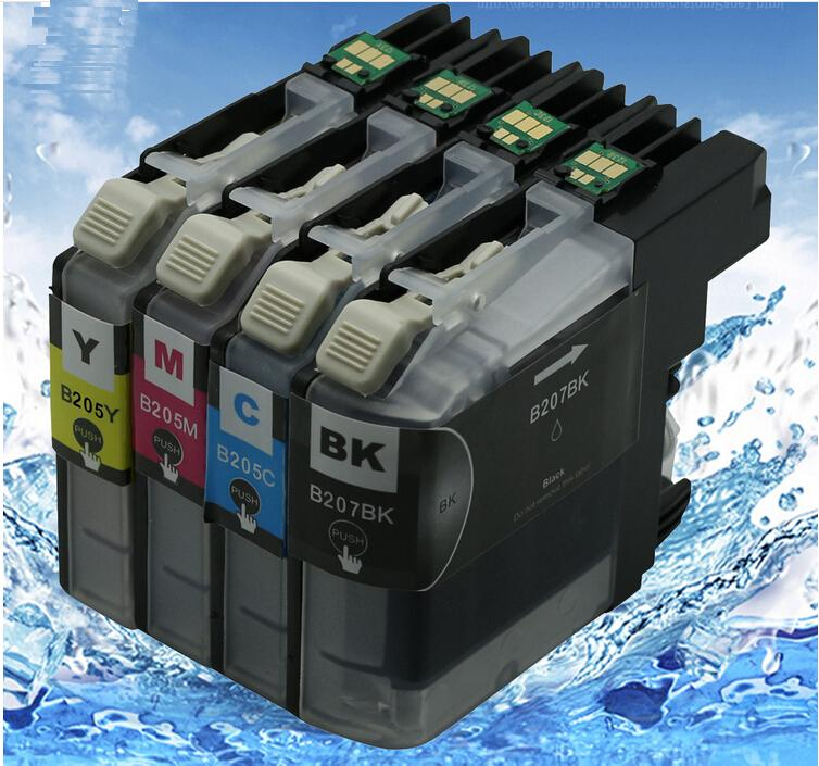 LC203 LC201 LC205 LC207compatible cartucho de tinta para Hermano MFC-J460DW MFC-J480DW MFC-J485DW MFC-J680DW MFC-J880DW MFC-J885DW