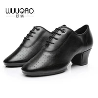 2021 womens leather latin dance shoes ballroom dancing shoes soft sole sailor dance shoes adult practice dance shoes of cloth