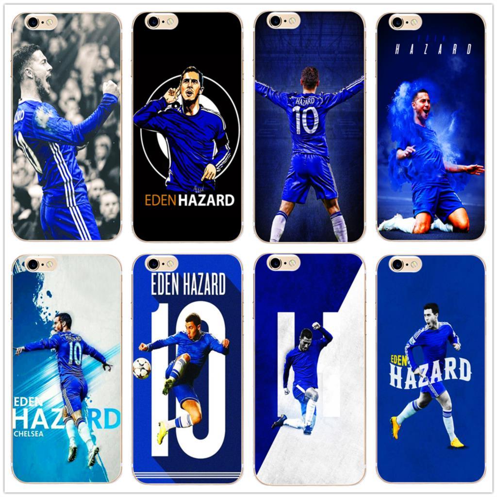 Eden Hazard The Blues Football star модный прозрачный жесткий чехол для телефона, чехол для iphone 11Pro MAX 6 6s 7 8plus 5 X XS XR XSMax