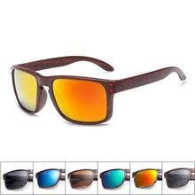 Sunglasses Men Sport Eyewear Brand Designer Driving Oculos De Sol Reflective Coating UV400 With Case