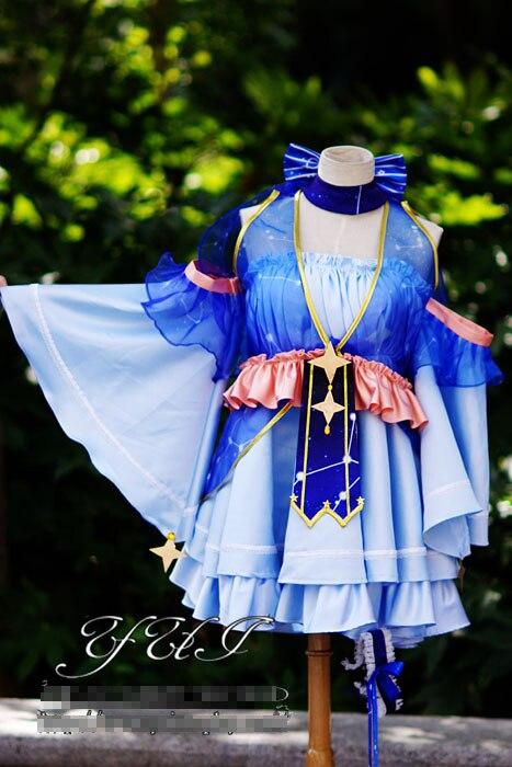 Miku con diseño de nieve 2017, personal Vocaloid de Star, uniformes personalizados, disfraz Cosplay, envío gratis