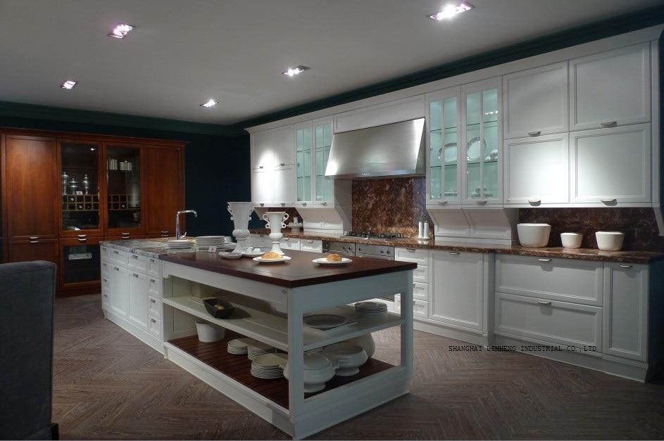 Классические лучшие продажи кремовых кухонных шкафов (LH SW066) kitchen cabinet kitchen cabinets