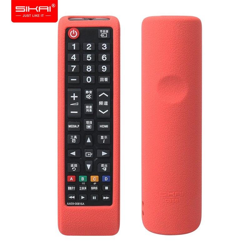 SIKAI 2018 защитный чехол для Samsung BN59-01199F AA59-00666A пульт дистанционного управления Smart TV для Samsung AA59-00817A AA59-00637A