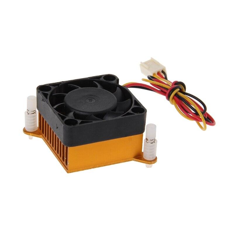 PC Northbridge Chipset Aluminium Cooler Heatsink 40mm Fan For 3D Printer Cooling