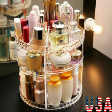 Boîte de rangement rotative à 360 degrés   Degrés de stockage cosmétique et de maquillage