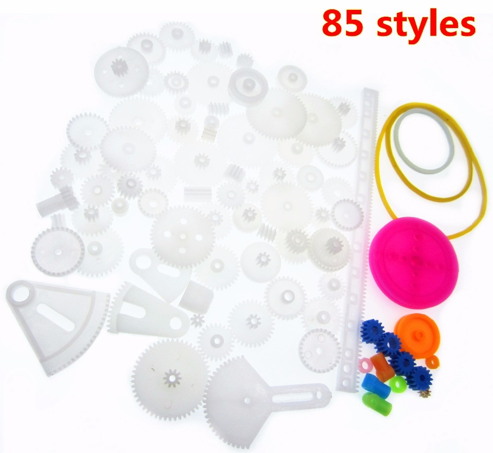 Useful Mixed 85 Kinds of Plastic Gear Bag Science and Technology To Create Gear Rack Gear Box 0.5M