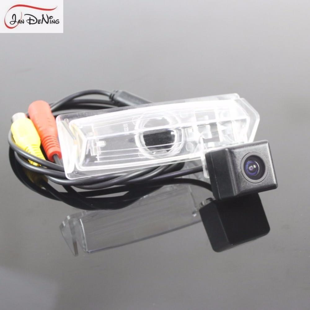 JanDeNing HD CCD vista trasera de coche aparcamiento/cámara reversa de respaldo/luz de matrícula OEM para Lexus HS250h HS 250h (ANF10) 2010-2012