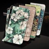 3d patterned leather case for xiaomi mi note 10 case wallet cases coque for xiomi mi cc9e a3 9t cc9 noe 10 pro cover