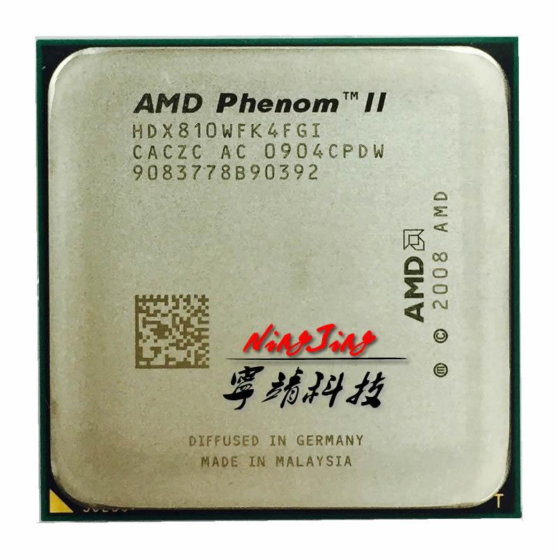 AMD Phenom II X4 810 2,6 GHz Quad-Core CPU Prozessor HDX810WFK4FGI Sockel AM3