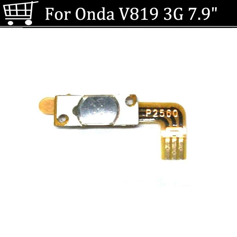 """100% interruptor on off botão De Volume de Energia cabo Flex Original Para Onda V819 3g 7.9 """"tablet flexível condutora peças de reposição"""