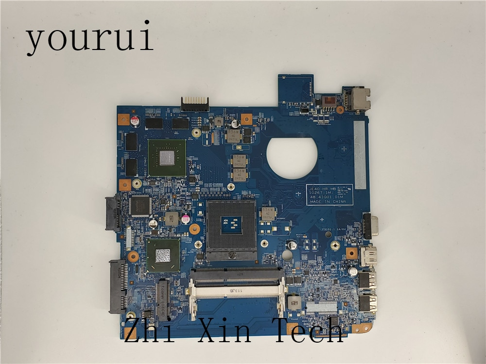 Yourui Alta qualidade Para Acer aspire 4750 4750G 4750 Laptop Motherboard 48.4IQ01.041 DDR3 Teste funcionando bem