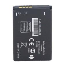 ISUNOO 3.7V 750mAh CAB22B0000C1 Battery For ALCATEL ONE TOUCH OT-665 OT-356 Phone Repalcement Batteries