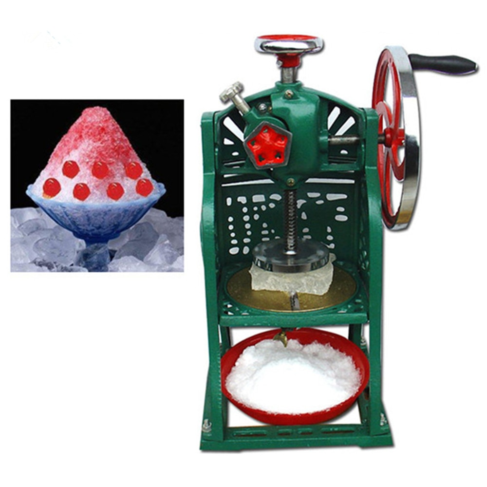 Commercial Ice Crusher Ice Shavers Ice Shaving Machine  ZF