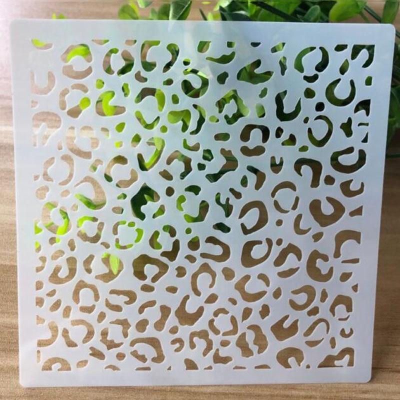 Openwork Stencil Painting Template Embossing DIY Craft Bullet Journal Accessories Sjablonen For Scrapbooking Decoration Reusable