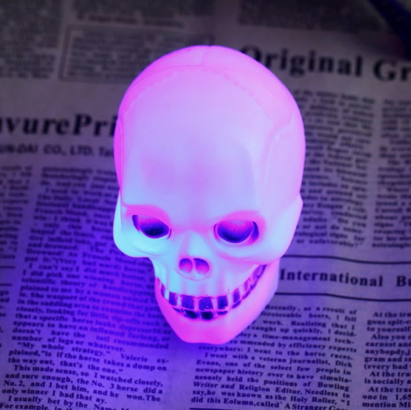 Venta al por mayor, 1 Uds., cambio de luz Flash LED de colores, lámpara de noche decorativa, regalo, búsqueda en todo el mundo