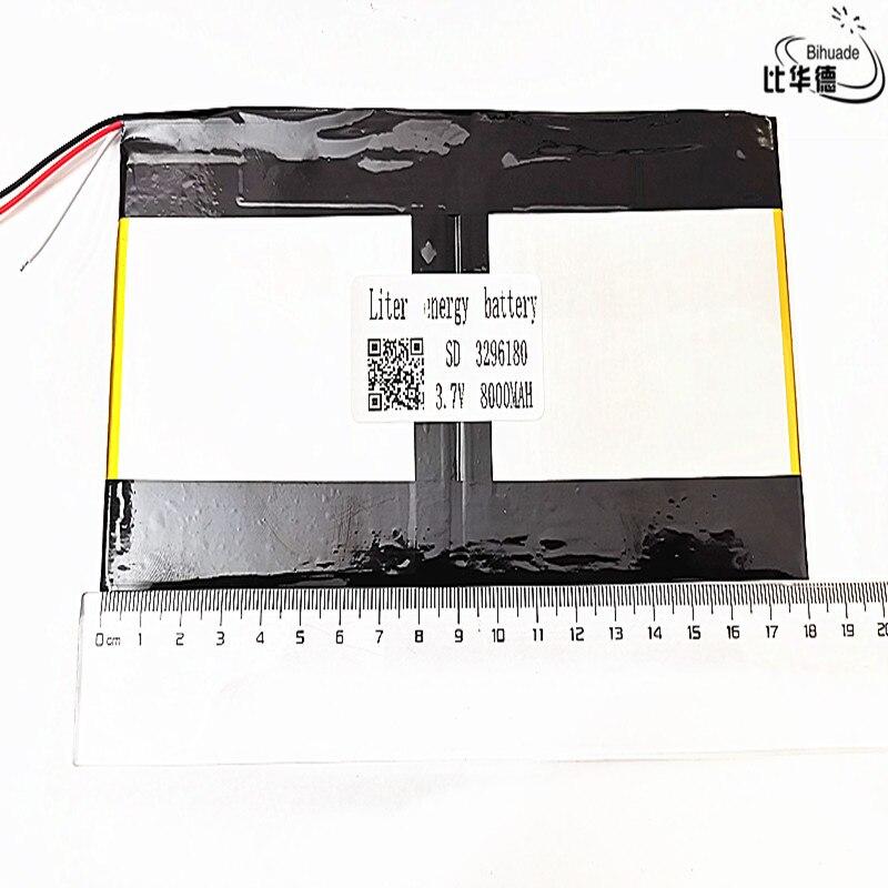 3 線 3296180 3.7v 8000 用 teclast X98 空気 3 グラムの v99i タブレット pc バッテリー完璧な品質大容量選択肢