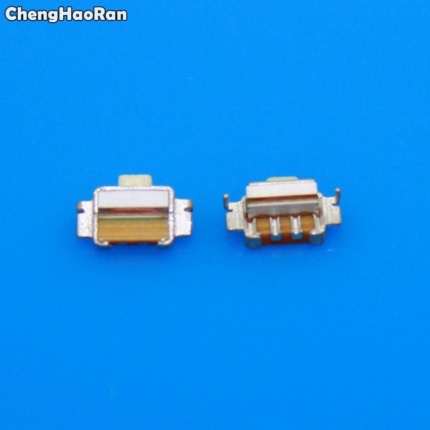ChengHaoRan 10 Uds conector Tecla de volumen de energía interruptor de botón A para Samsung Galaxy S3 S4 mini i9195 i9190 S7562I I8190 S7562
