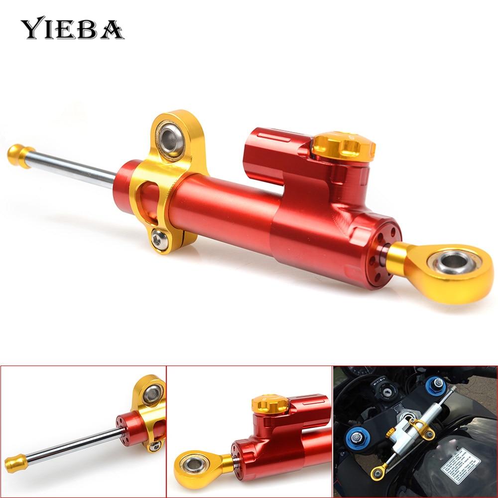 Universal Motorcycle CNC Demper Steering Stabiliseren Veiligheid Controle Voor YAMAHA YZF R25 YZF R3 YBR 125 YZF R15 XT660 TMAX 500 530