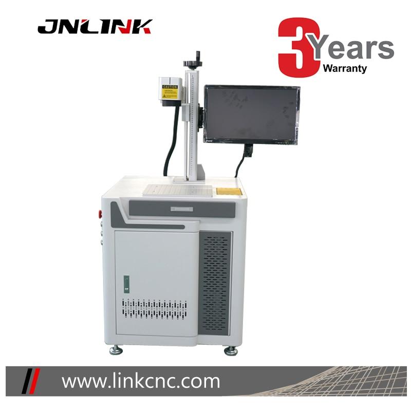 Precio bajo JNLINK Máquina de marcado láser de fibra de anillo de pájaro 20w 30w 50w 100w máquina de marcado de joyería