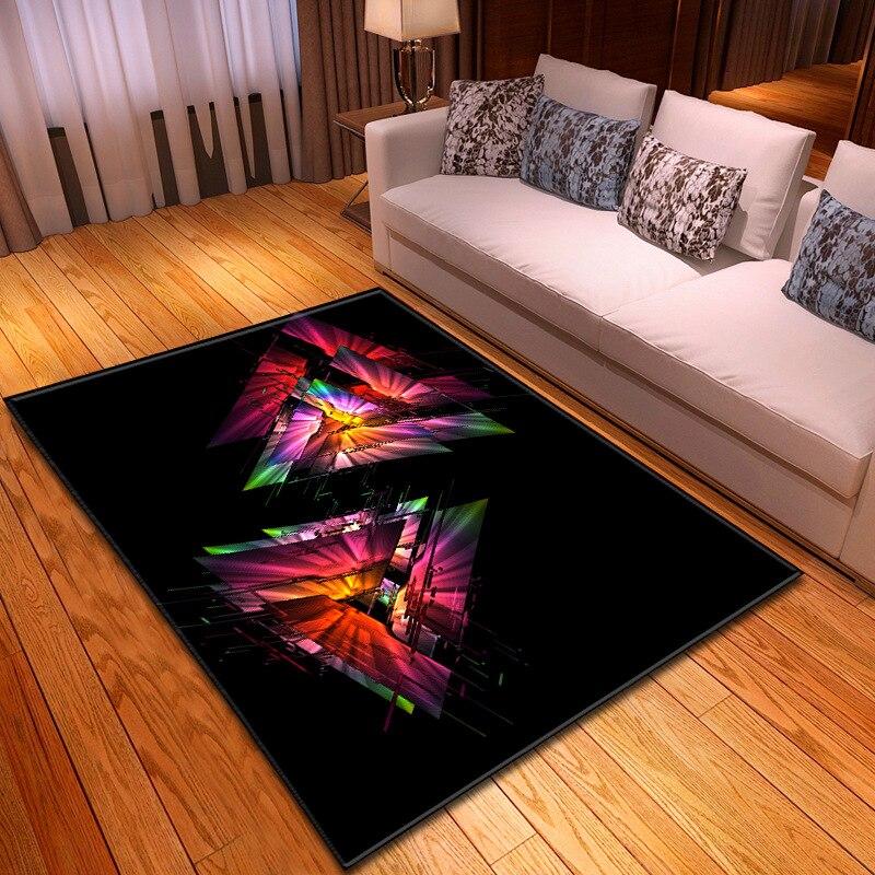 الشمال نمط هندسية 3D نمط السجاد لغرفة المعيشة منطقة السجاجيد غرفة نوم أريكة الشاي الجدول الحصير اليوغا سادة الأزياء السرير بطانية
