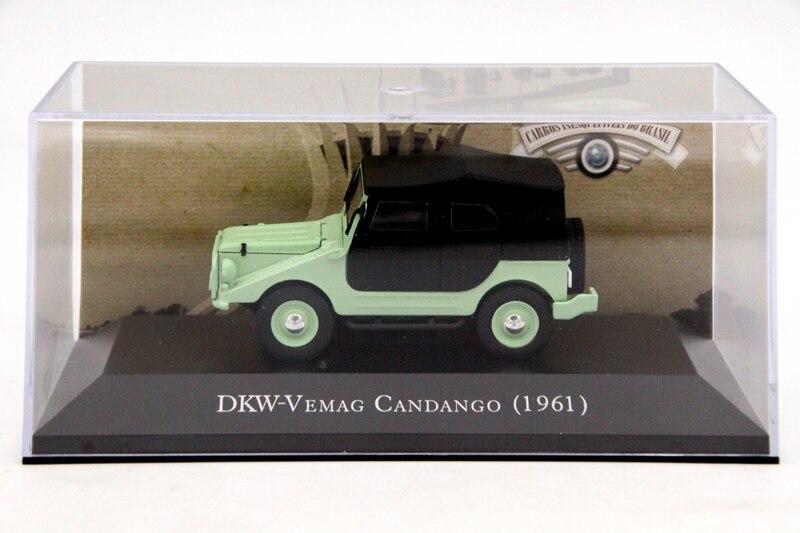 IXO-coche a escala 1:43, DKW, Vemag Candango 1961, coche de juguete fundido...