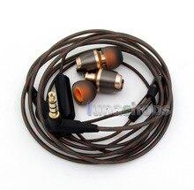 3,5mm 10mm Lautsprecher Mit Mic-direktübertragung In Ohr Stereo TPE OFC Kopfhörer DC port Kabel Version LN005890