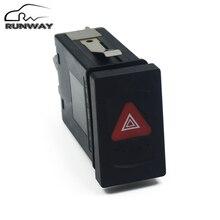 New High Quility Warning Lamp Hazard Light Button Switch For VW Volkswagen Passat B5 99-05 # 3B0 953 235D / 3B0 953 235B