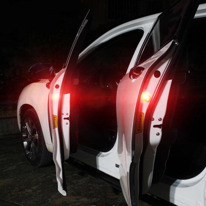 2x сигнальная лампа для автомобильной двери для Mitsubishi Asx Lancer 10 Outlander Pajero Sport 9 L200 Colt Carisma Galant Grandis