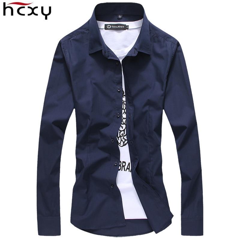 Nueva camisa manga larga para hombre casual comercial 30%-49% algodón color sólido blanco luz rosa azul marino vino negro talla M-5XL