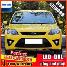 Phare antibrouillard pour voiture   Style de voiture, phare antibrouillard, pour Ford focus 2009-2014, avec lentille et durée de vie de la voiture 2 fonctions