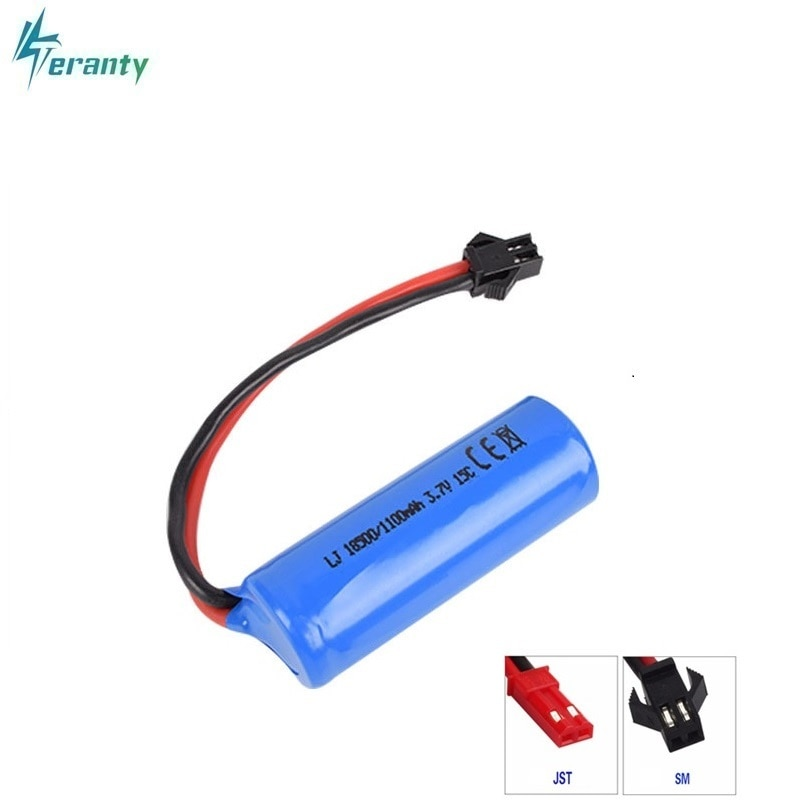 3.7V 1100mAh 15c Lipo Battery For S900 FT008 Remote control helicopter/Boat 3.7 v 18500 Li-po batteries for Toy Battery SM Plug недорого