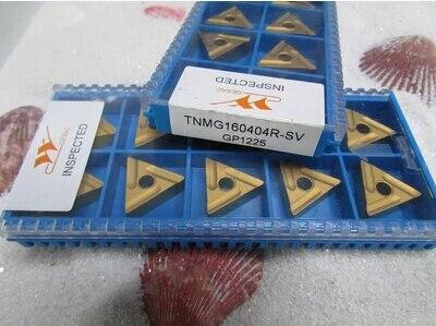 Frete Grátis carbide insere TNMG160404R-SV Adequado para MTJNR Series Ligando Enfrentando Ferramenta Torno Externo